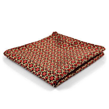 Fancy Red & Yellow Pocket Square Trendhim KtVE8u654l