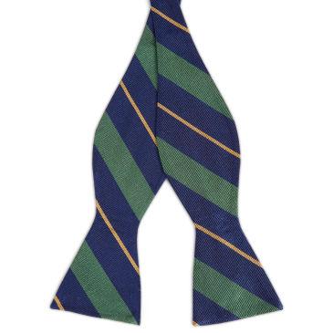 Green & Gold Stripe Navy Silk 6cm Necktie Trendhim dqFyCK