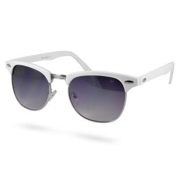 Weiße Getönte Quadratische Holz Sonnenbrille piavprPt45