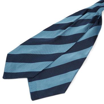Rayure Marine Double Or Soie Trendhim Cravate vE8OD5S