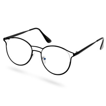 Las Gafas Erudito Marco Negro Trendhim AezC5UPi