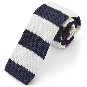 Blue Striped Knitted Tie Trendhim QFNgrAqz