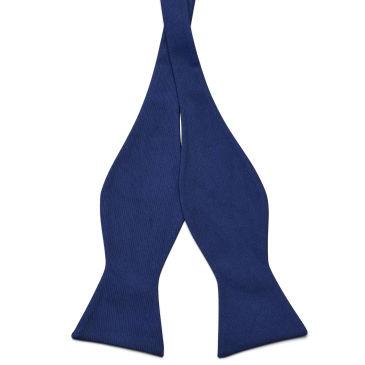 Blue & Red Retro Cotton Self Tie Bow Tie Trendhim STrwGPL