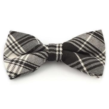 White/Black Chequered Soft Bow Tie Trendhim dcXjZR8