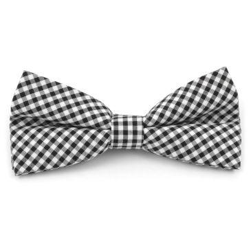 Arc Blanc / Noir Doux À Damiers Cravate Trendhim mgqmcf54r