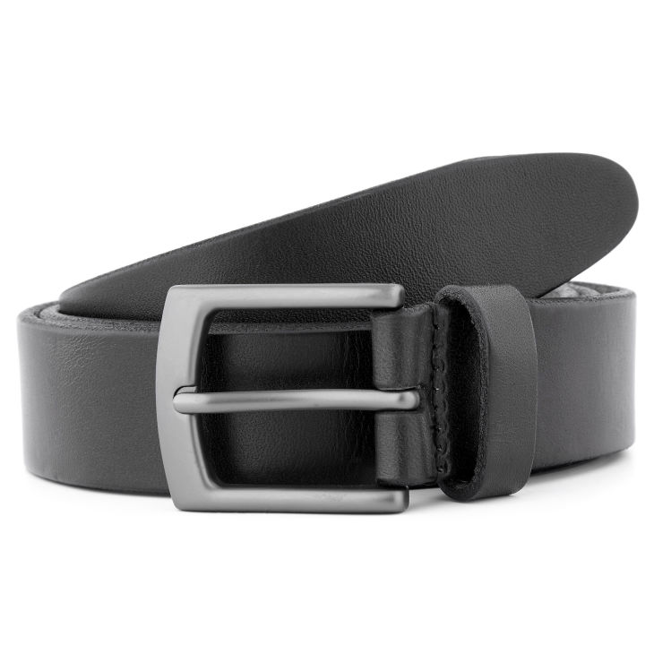 Brown & Gold Classic Leather Belt Salt & Hide N8JdA4