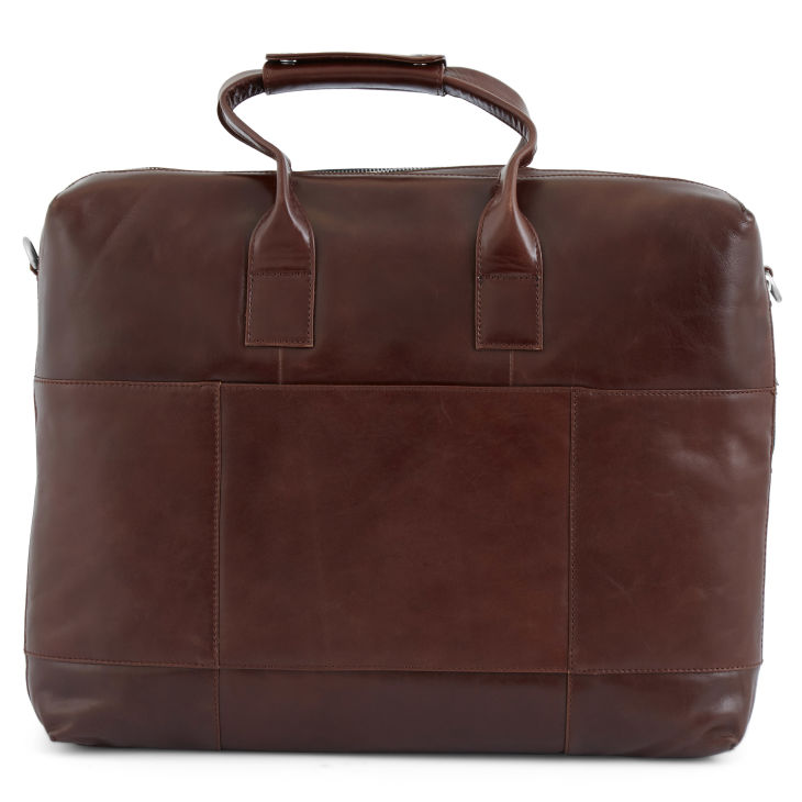 Grand sac bandoulière marron clair Jasper e7PclJe8
