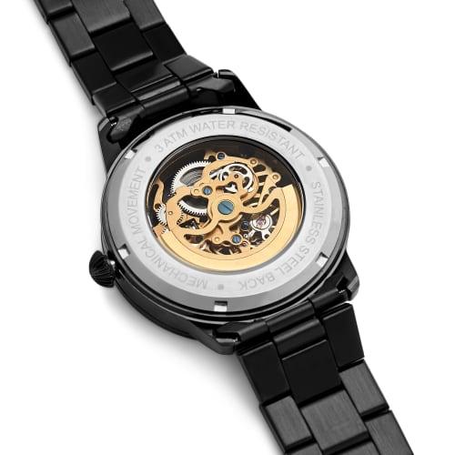 Schwarze Goldfarbeneamp; Dante Goldfarbeneamp; Armbanduhr Armbanduhr Schwarze Dante K5Ju1Tlc3F