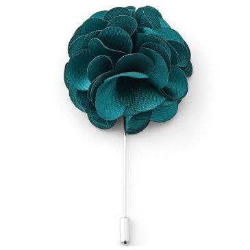 Luxuriöse Rostfarbige Blumen Reversnadel Trendhim pNEAGe