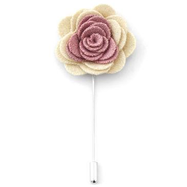 Weiche Blumen Reversnadel In Schwarz & Rot Trendhim 6h9k4