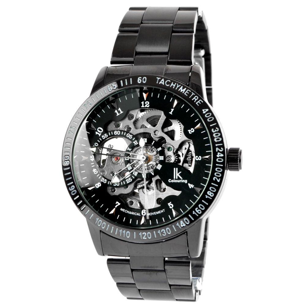 73571ba342 Black   Silver Rolat Watch