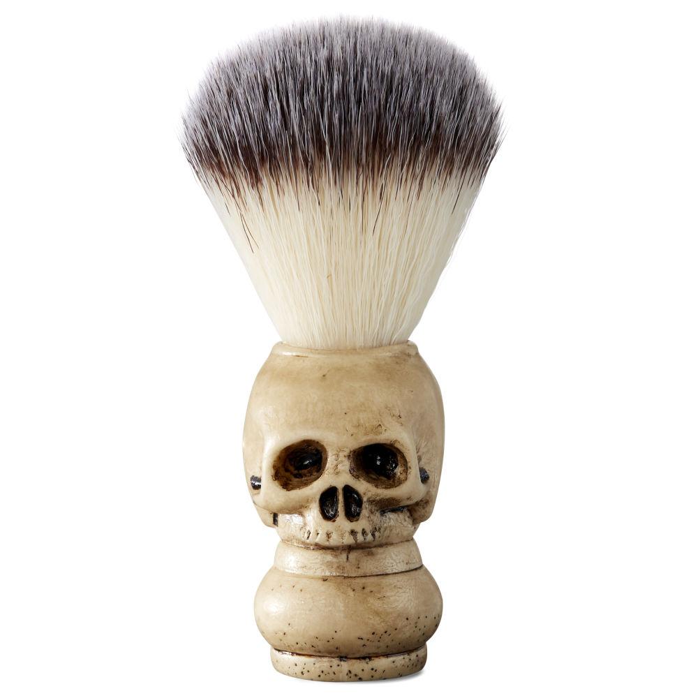 synthetic hair skull shaving brush free shipping collin rowe