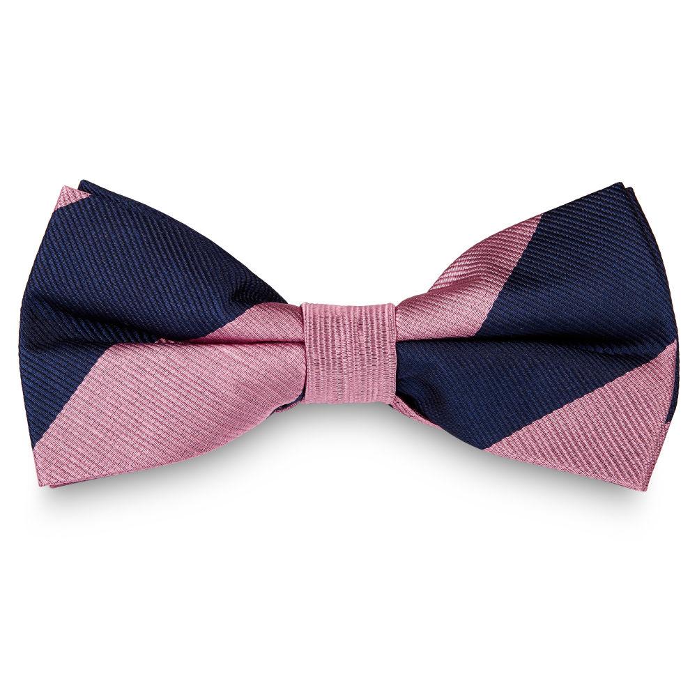 ead2d7943f0b4 Noeud papillon en soie rose et bleu marine