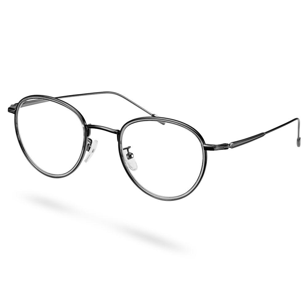 Μαύρα Γυαλιά με Διάφανους Φακούς Atrium  e3cf95ca541