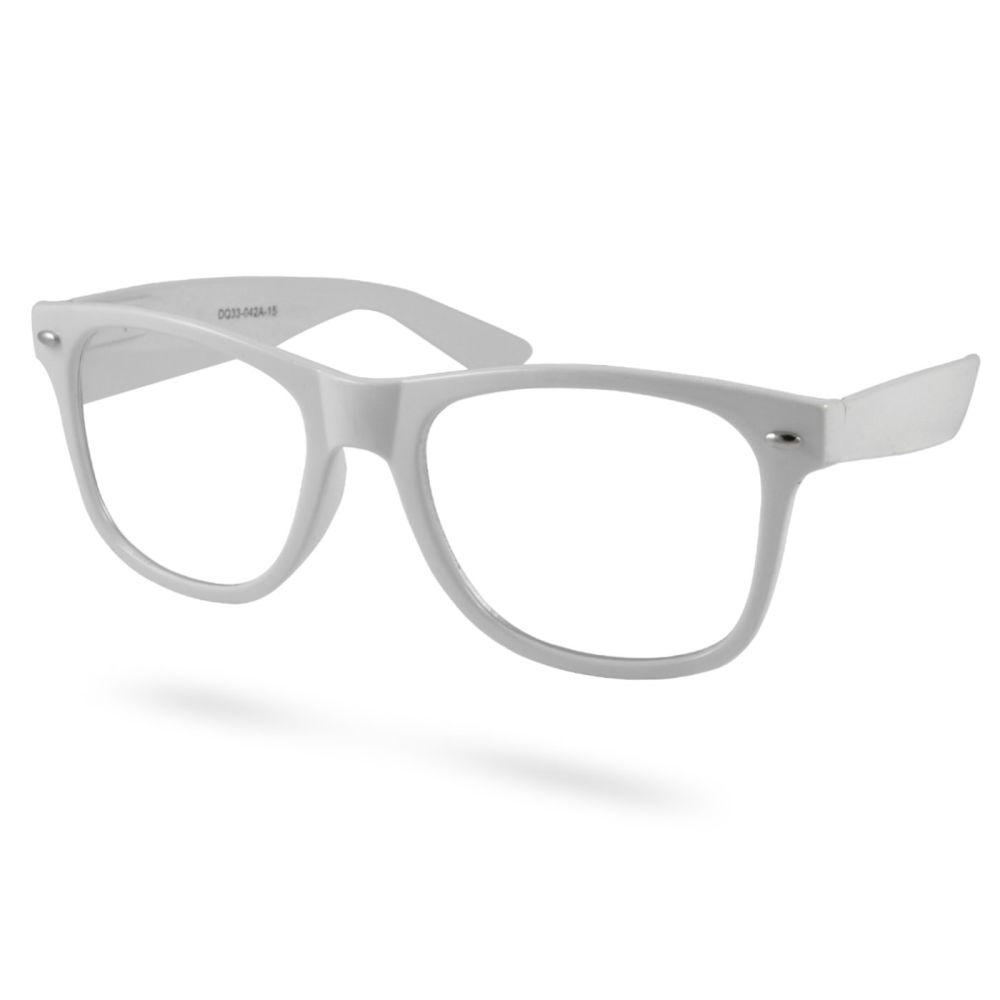 182e02444958 Hvide Briller Uden Styrke
