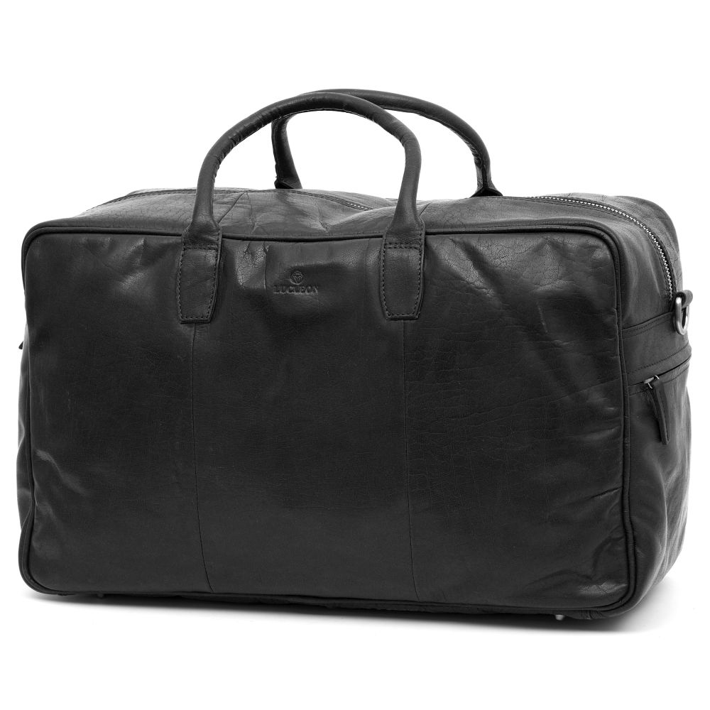 f5c8df0a83 Μαύρη Δερμάτινη Τσάντα Montreal Duffel