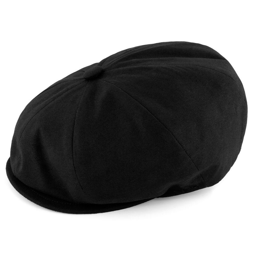 e26db1ab82fce Spicchi Black Newsboy Cap