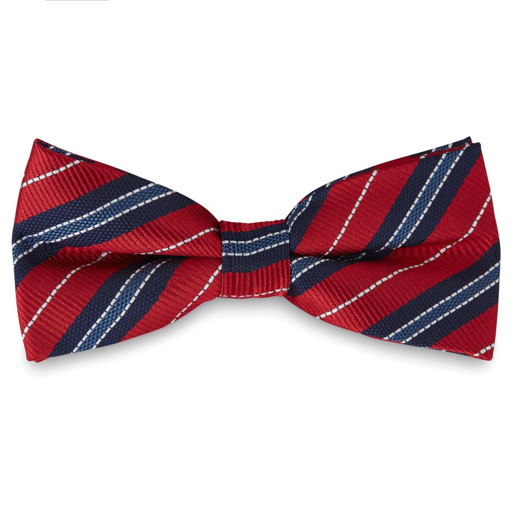 5c94d3c378 Vörös és kék kötött csokornyakkendő varrással | Készleten! | Tailor Toki