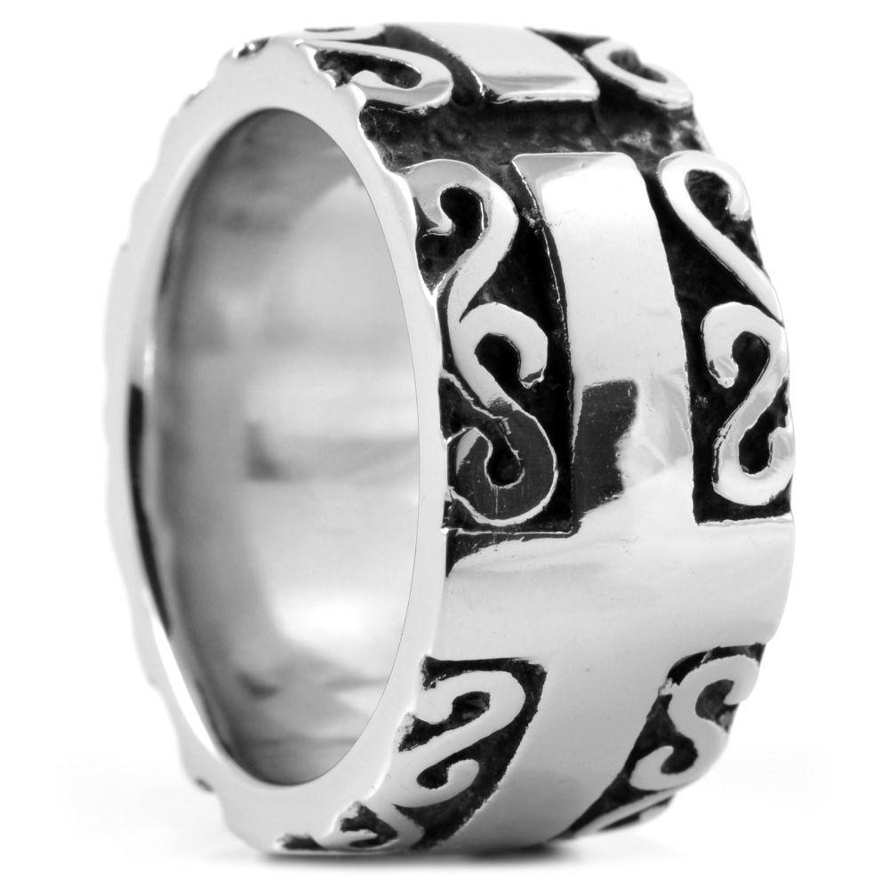 Αρρενωπό Ατσάλινο Δαχτυλίδι Viking  de364eead2d