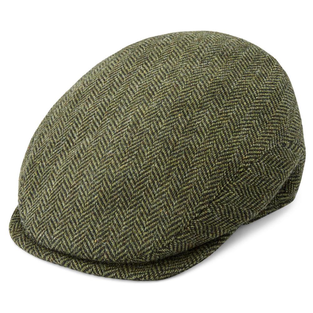 Gorra plana de lana verde Fido Eddye  e5715d7ffdd