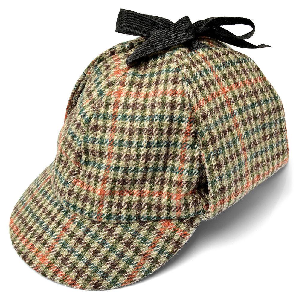 98e2d43bd7339 Boné Sherlock Holmes em Xadrez