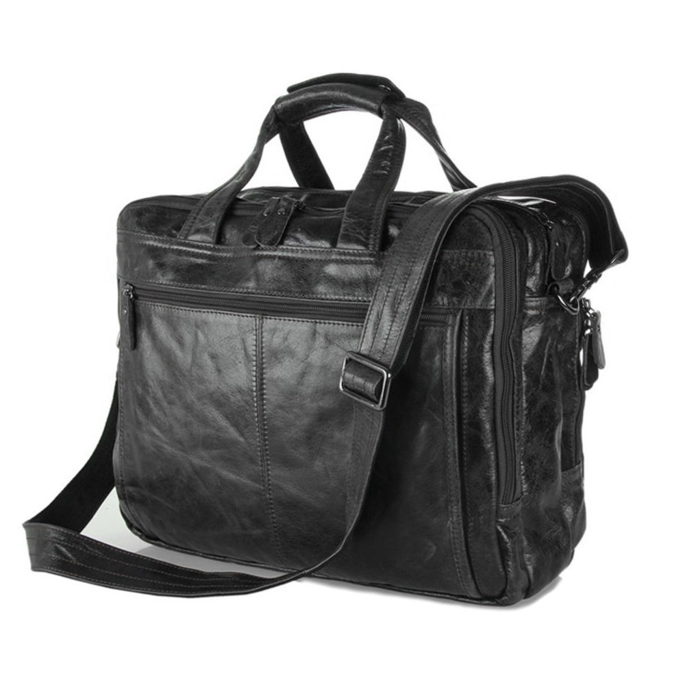088054723a4 Δερμάτινη Τσάντα Olive Cario Multi   Γρήγορη αποστολή   Delton Bags