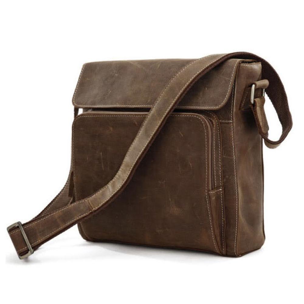 254687f7baef Tsarina Brown Leather Bag