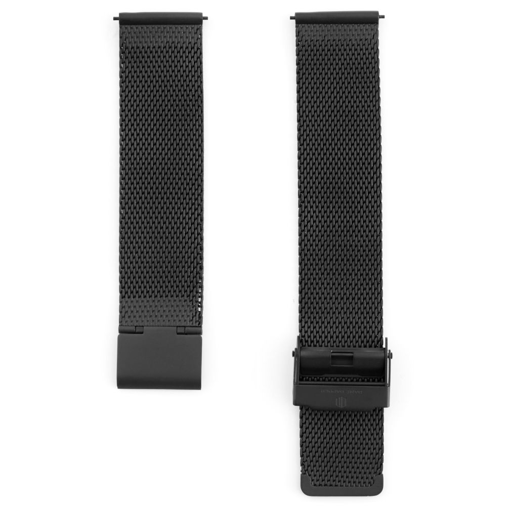 350bff0c1229 Correa para reloj de malla metálica negra
