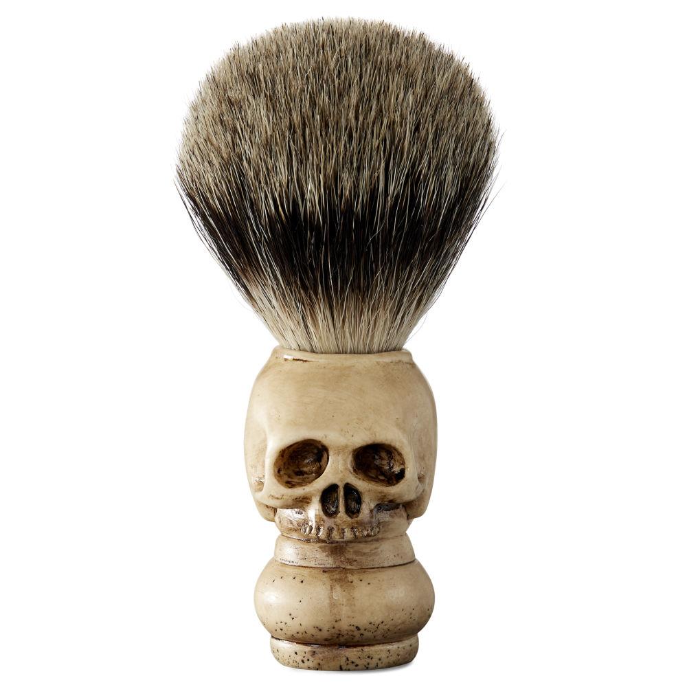 pure badger skull shaving brush free shipping collin rowe