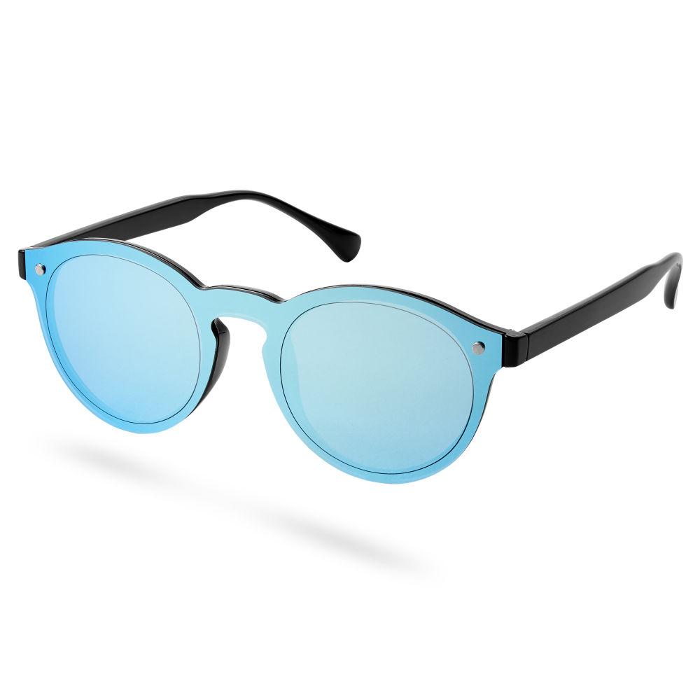 eba30eb32aa3af Blauwe Klassieke Zonnebril met Spiegelglazen