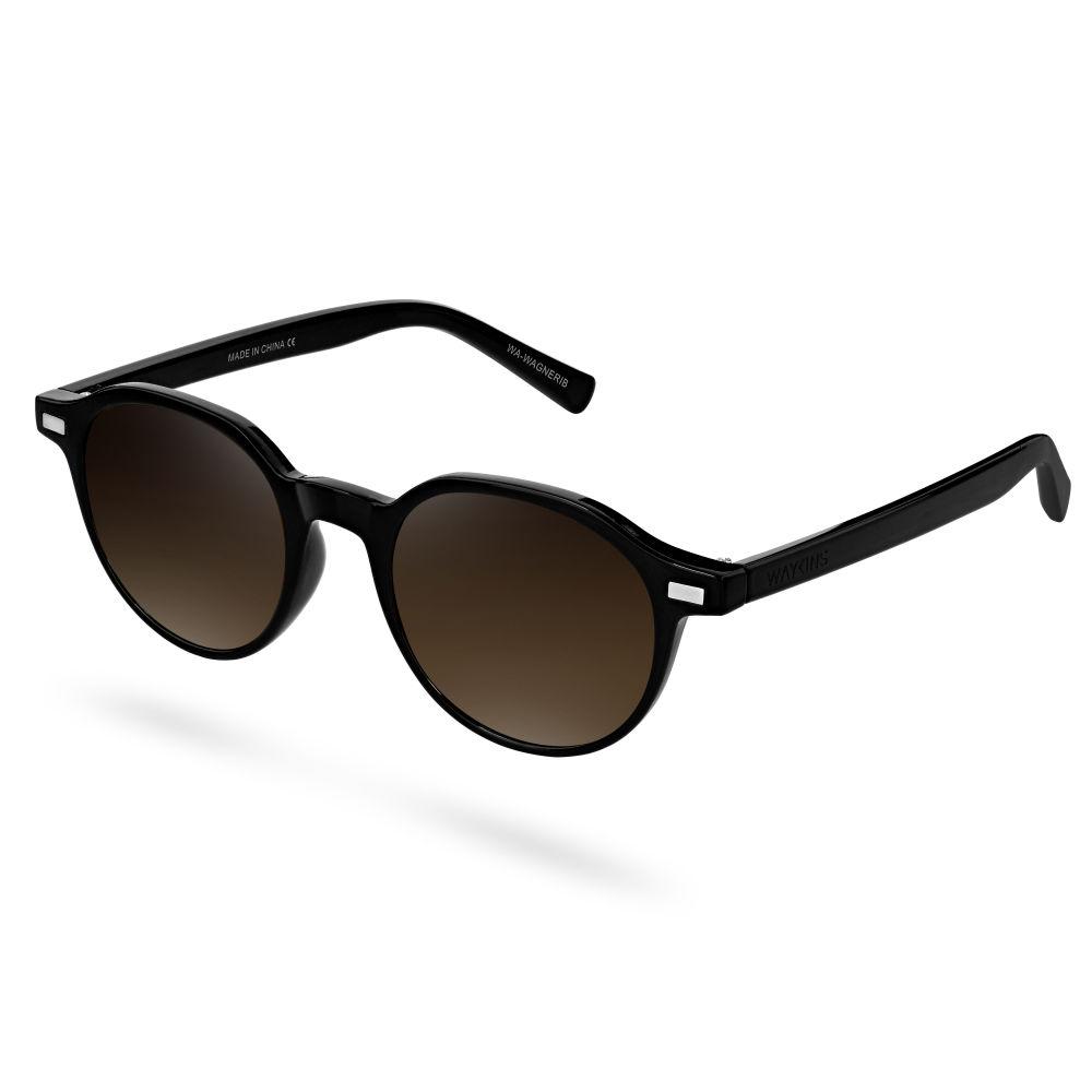 Occhiali da sole Wagner nero e marrone  5f9226a554f1