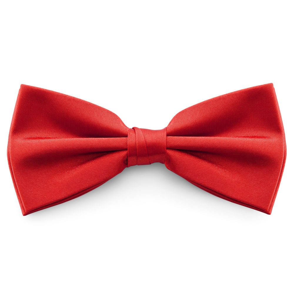 Shiny Gold Basic Pointy Bow Tie Trendhim