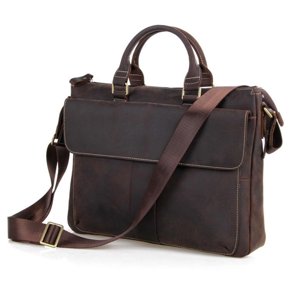 lædertaske til pc