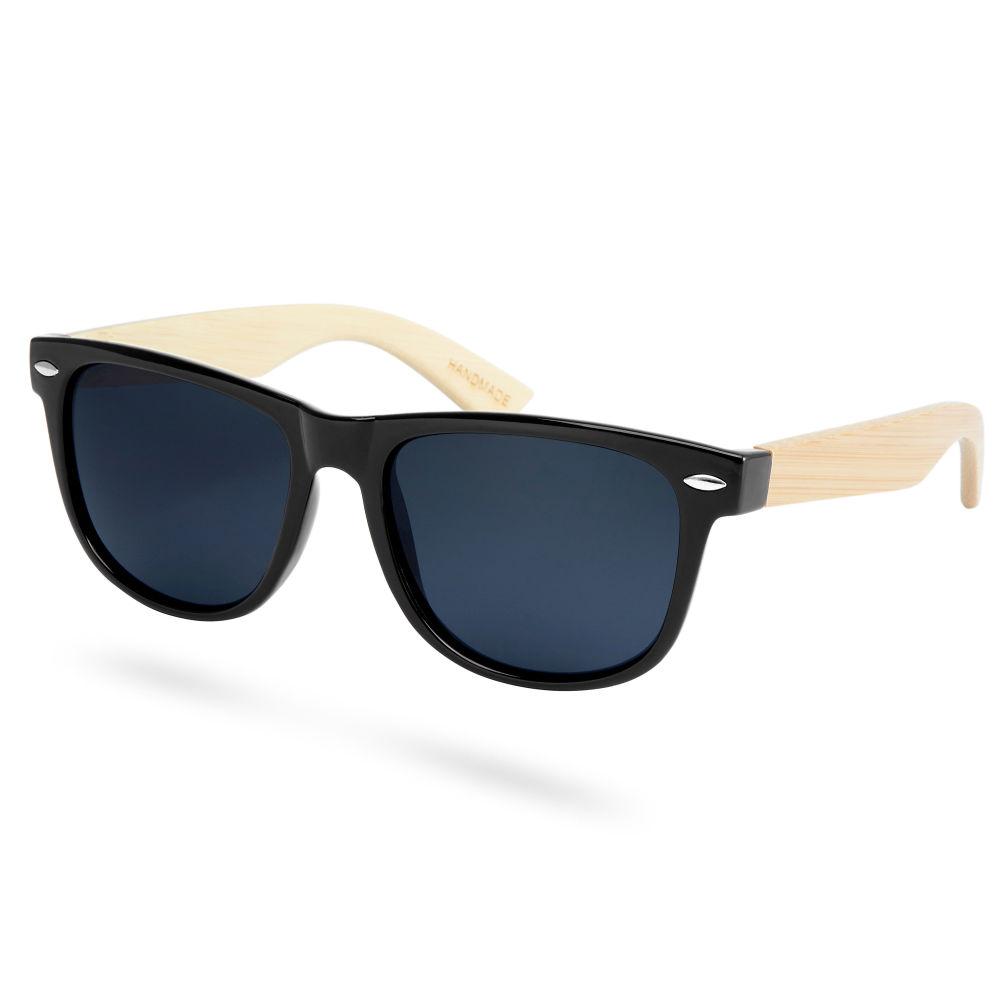 bfde75c26b Black Bamboo Smoke Polarized Sunglasses