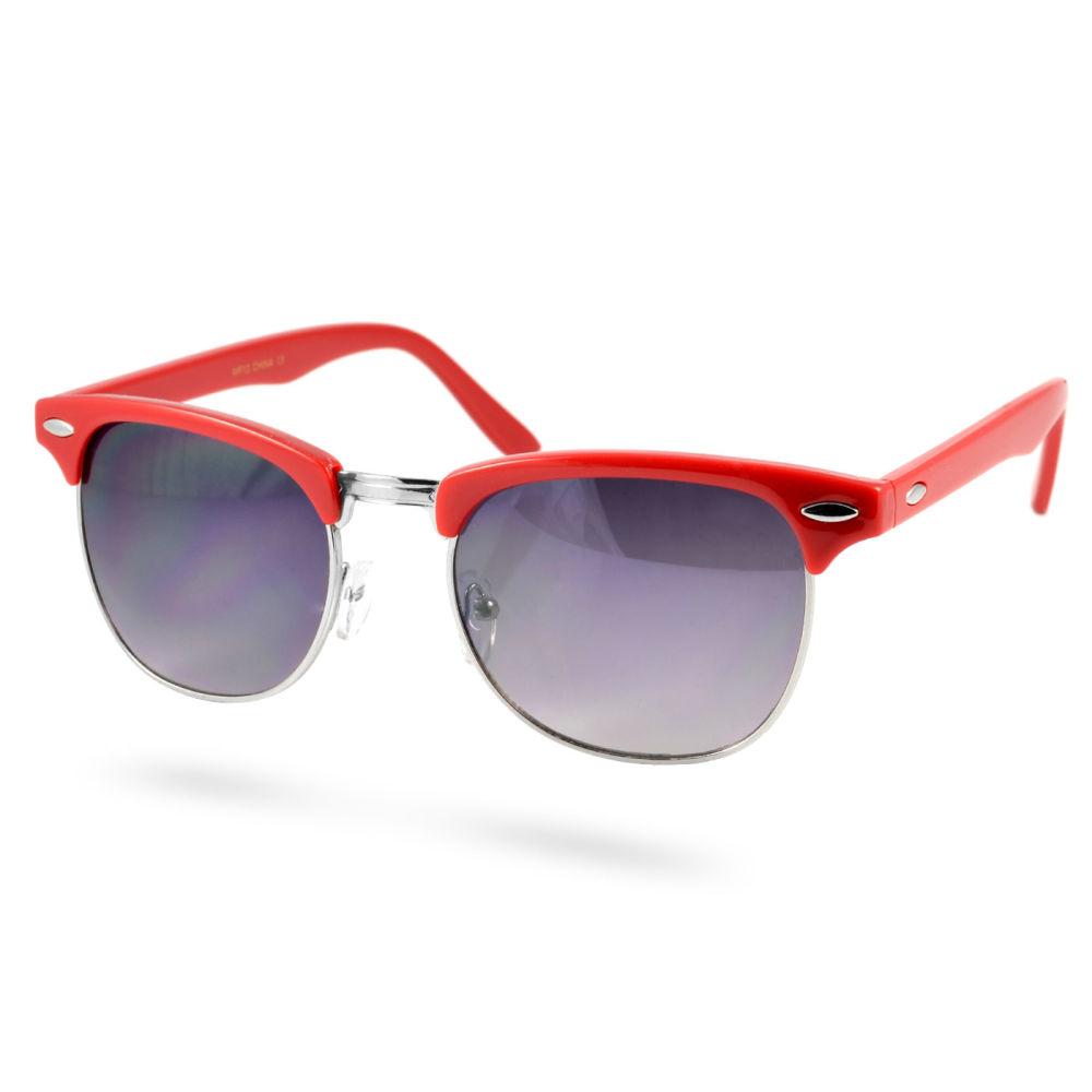 Červené vintage slnečné okuliare LA  020070dc386