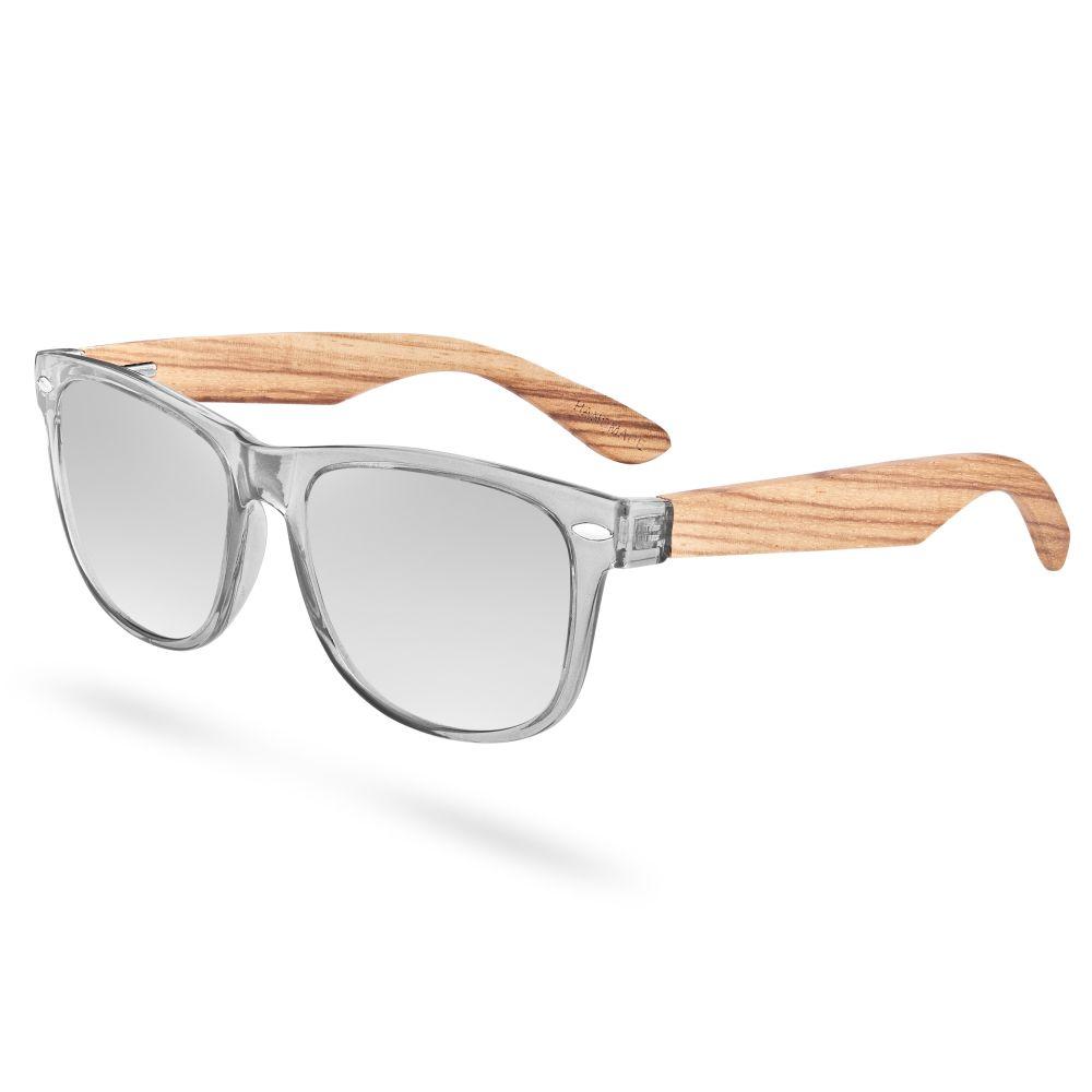 Ezüst és szürke polarizált lencsés napszemüveg  bdcdad925b