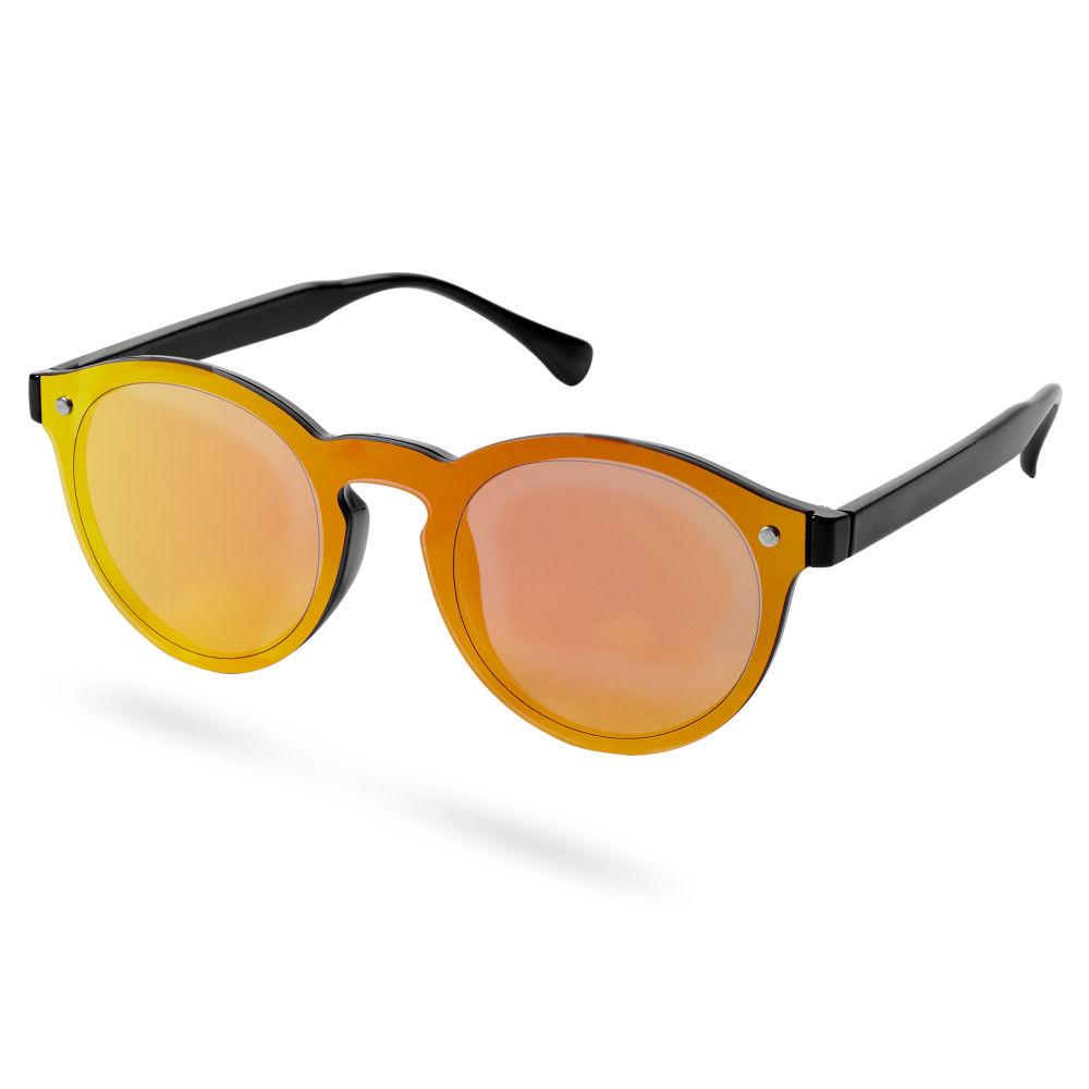 Lunettes de soleil orange à verres iridescents   En stock!   Paul Riley b53853473a78