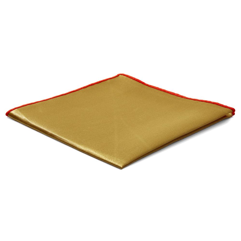 5e5fa28e1f Χρυσαφί Γυαλιστερό Τετράγωνο Μαντήλι Τσέπης Shiny Gold Basic