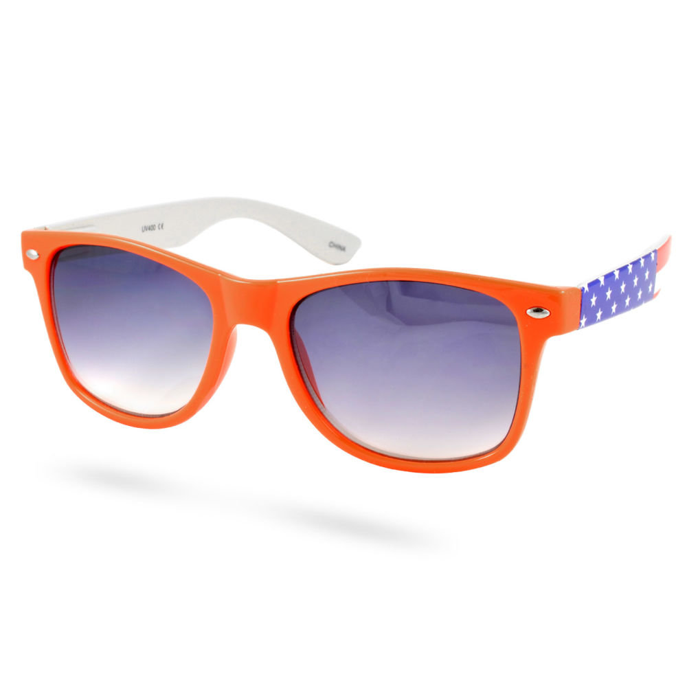 Orange Amerikanska Wayfarer Solglasögon  64664ba282dcc