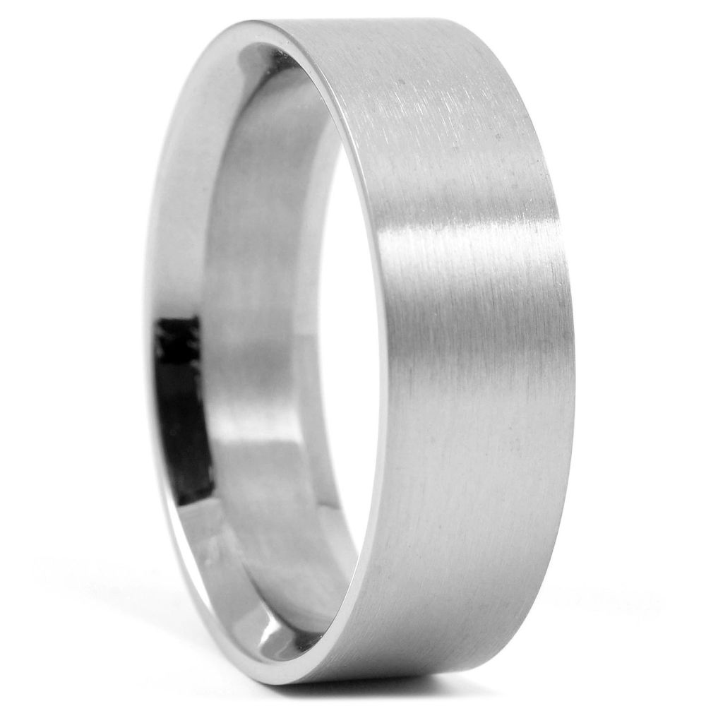 Ατσάλινο Δαχτυλίδι Matte  21974513cc1