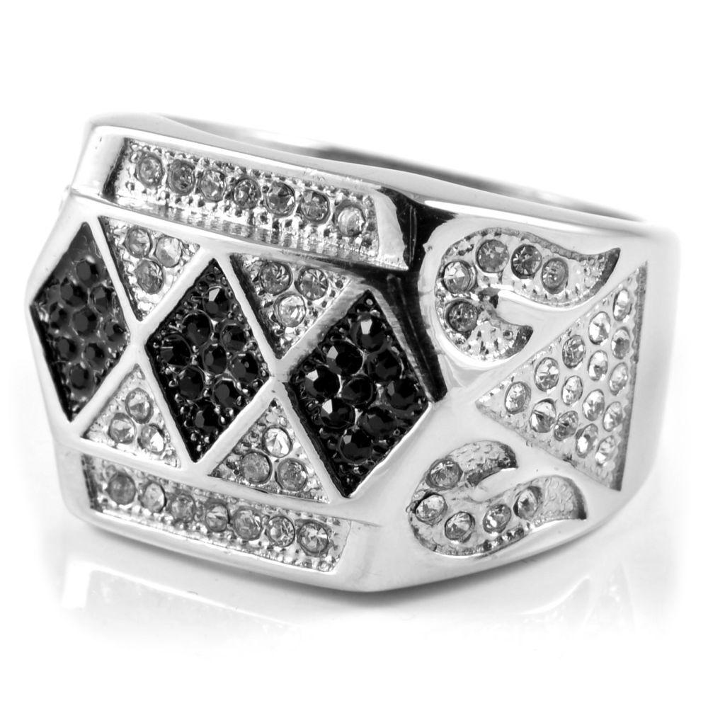 stålring med diamant