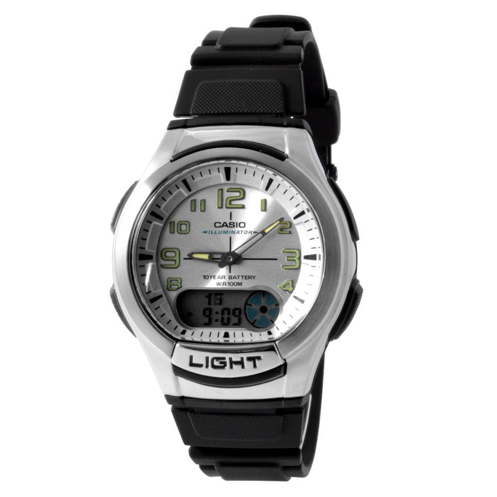 ac511eaa9ef Černé sportovní hodinky Casio