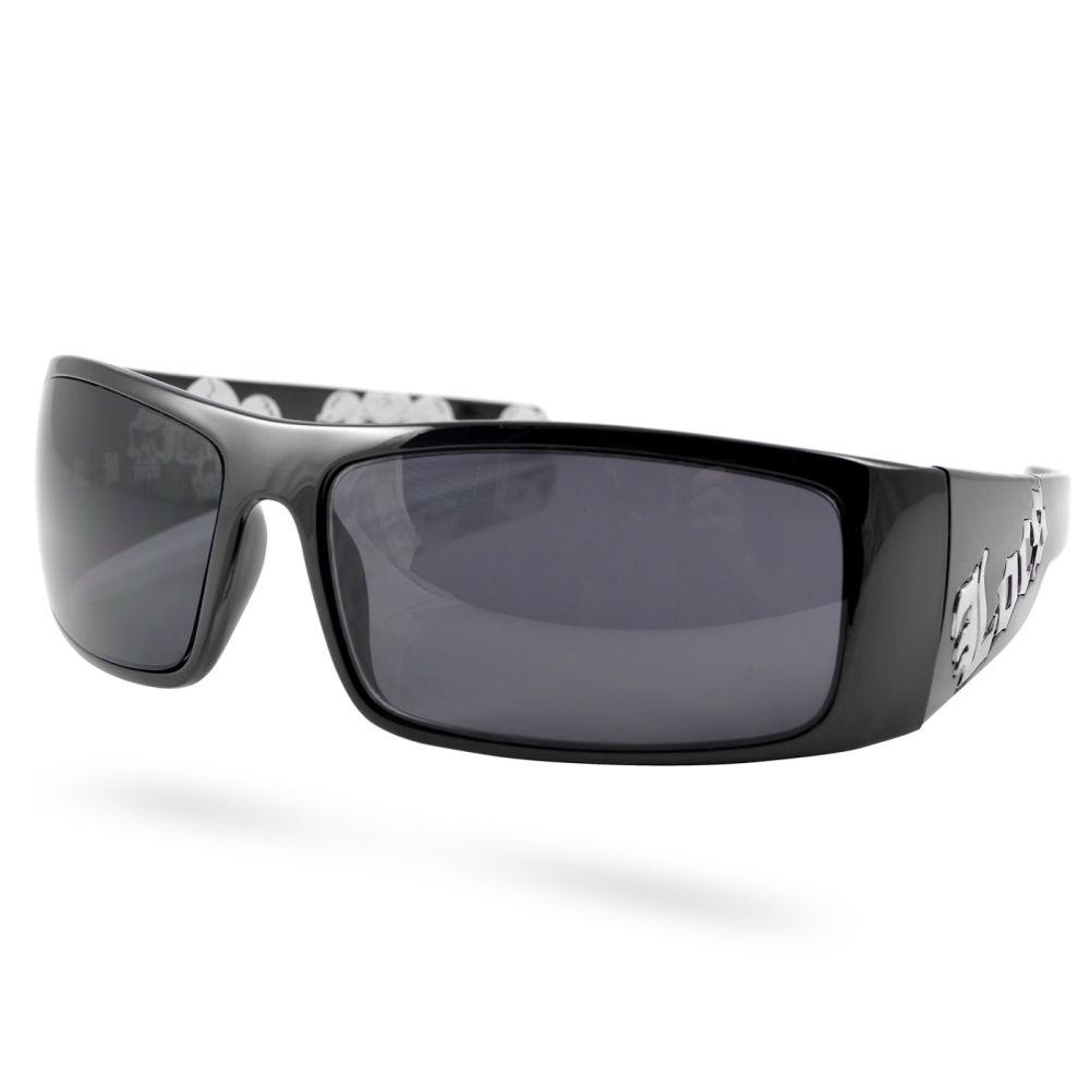 Locs Sonnenbrille Totenkopf Biker | Kostenloser Versand