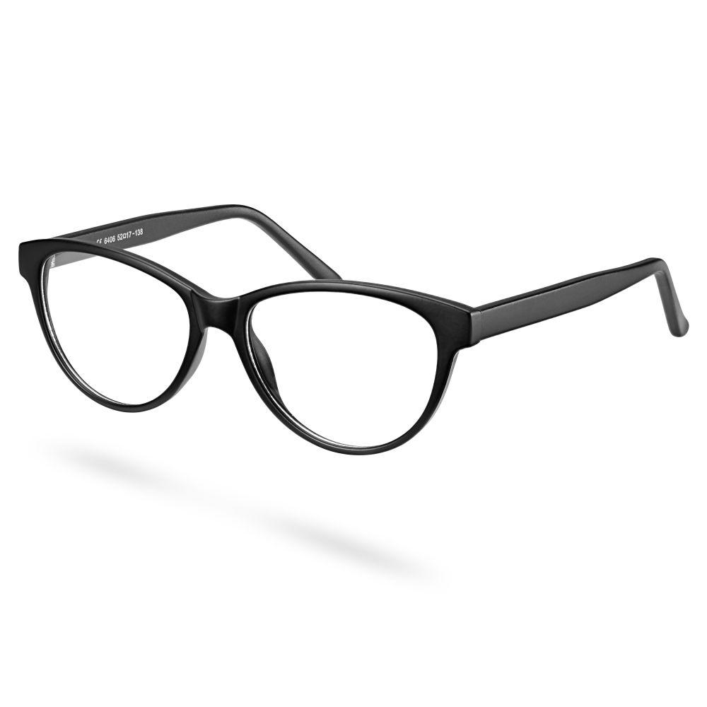 Στρογγυλά Ματ Μαύρα Γυαλιά με Διάφανους Φακούς  6ad24e630c2
