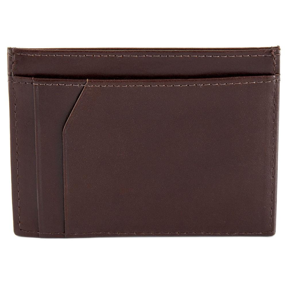 Portacarte Jasper in pelle marrone scuro   Disponibile!   Lucleon 1f151fd94177