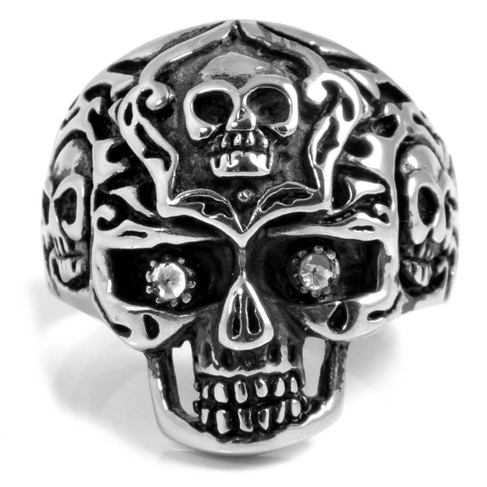 Ατσαλένιο Δαχτυλίδι Alien Skull  4175136b5dd