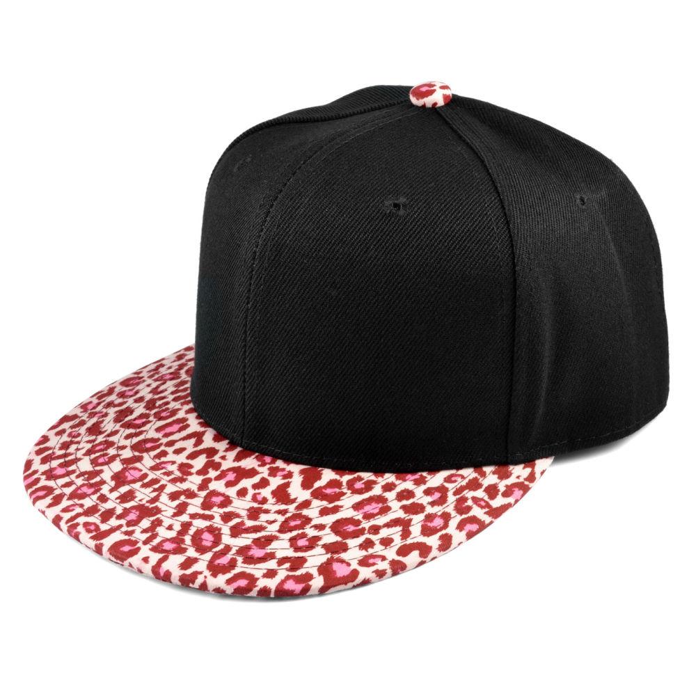 Pinkki Leopardi Snapback Lippis  30c71f84fd