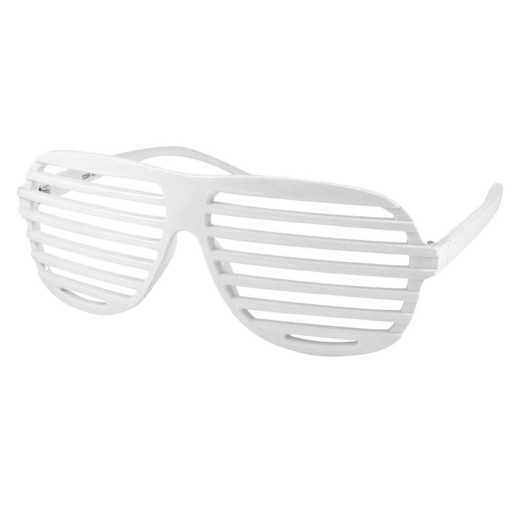 6b114fb001d07d Witte Shutter Shades bril