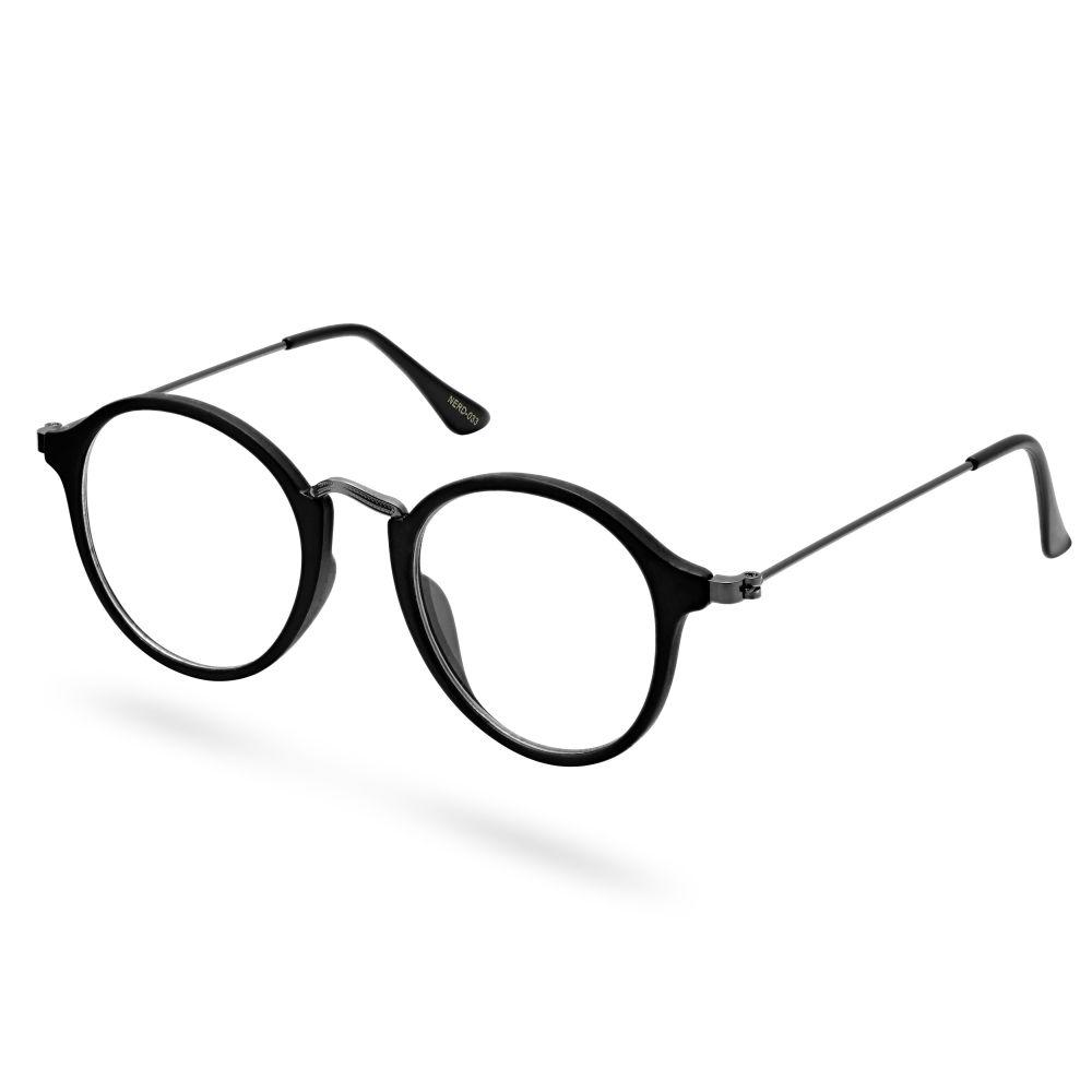 f71761d6f85f29 De Academische Bril in Zwart op Zwart Montuur