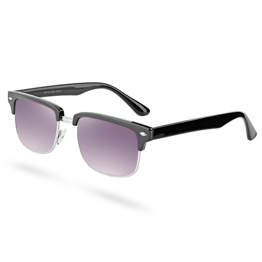 Lila Getönte Sonnenbrille Mit Schwarzem Gestell | Kostenloser ...